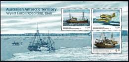Australian Antarctic 2020 Wyatt Earp Expedition 1948 Minisheet MNH - Unused Stamps