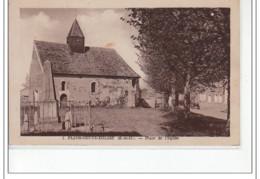 FLINS NEUVE EGLISE - Place De L'Eglise - Très Bon état - Flins Sur Seine