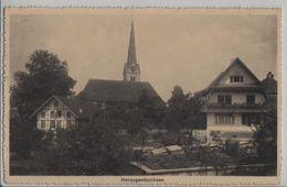 Herzogenbuchsee - Dorfpartie Mit Kirche - BE Berne