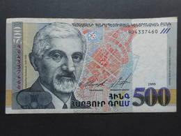 Armenia 500 Dram 1999 - Arménie