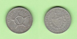 CUBA  5 CENTAVOS 1972 (KM # 34) #6182 - Kuba