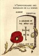 80] Somme > Albert  / THIEPVAL  / 70 Eme Anniversaire Des Batailles De La Somme   /LOT 4068 - Albert