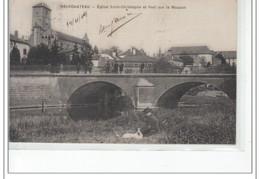 NEUFCHATEAU - Eglise Saint Christophe Et Pont Sur Le Mouzon - Très Bon état - Neufchateau