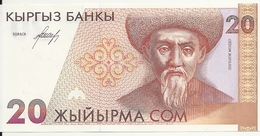 KIRGHIZSTAN 20 SOM ND1994 UNC P 10 - Kyrgyzstan