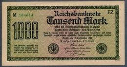 Pick76e Ro75m DEU-84g  1000 Mark 1922 ** UNC NEUF - [ 3] 1918-1933 : Weimar Republic