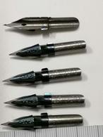 5 Pz  Plumes, Redis, Heintze & Blanckertz, 1146 1/2 Mm FRANKFURT /AM VINTAGE NIB NIBS, PENNINO  NIB - Pens