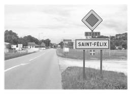 SAINT-FELIX - Panneau Entrée - Autres Communes