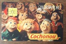 COCHONOU COCHON PIG TELECARTE PRIVÉE PUBLIQUE 50 UNITÉ RÉFÉRENCE PHONECOTE En575 PHONECARD - 50 Unità