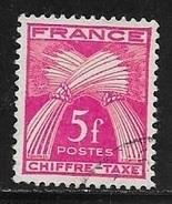 N° 75  FRANCE - TAXE OBLITERE - - 1859-1955 Used
