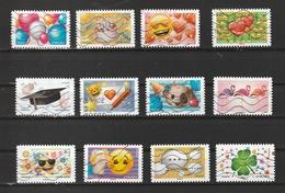2018 Emotions AA 1558 à 1569 Obl - France