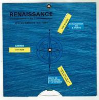 """Paquebot Renaissance (Paquet 1966) Disque """"d'orientation"""" Réglable/ 8 Positions = 8 Ponts - Format 14.5x14.5cm - Bateaux"""