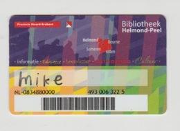 Pas-pass-giftcard NL Bibliotheek Pas Helmond-peel Asten-someren-deurne - Gift Cards