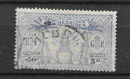 1925 USED New Hebrides Mi 81 - English Legend