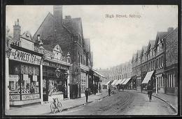 CPA ANGLETERRE - Sidcup, High Street - London Suburbs