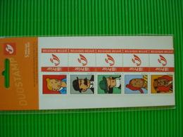 KUIFJE**blister Met Postfrisse Priorzegels** Kuifje En Zijn Vrienden ** - Booklets 1953-....