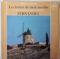 Fernandel: Les Lettres De Mon Moulin: Les Vieux - Le Sous Prefet Aux Champs - La Mule Du Pape Vinyle 1967 LP 33 - Humor, Cabaret