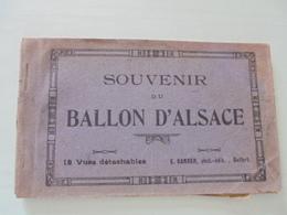 CARNET DE 10 CARTES POSTALES BALLON D'ALSACE - Autres Communes