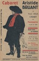 Cpa 75 Paris 9 Cabaret A Bruant 84 Bd Rochechouard - Distrito: 09