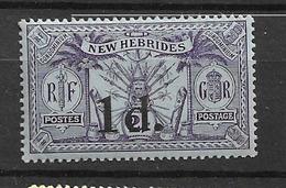 1920 MNH New Hebrides  Mi 61 - Used Stamps