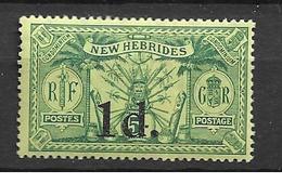 1920 MNH New Hebrides  Mi 62 - Used Stamps