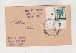 GERMANY,AUSTRIA 1938 WIEN Postcard - Allemagne