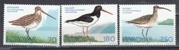 Faroe Islands 1977 - Birds, Mi-Nr. 28/30, MNH** - Faroe Islands