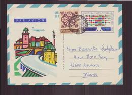 Pologne, Enveloppe De 1972 Pour Asnières - Briefe U. Dokumente