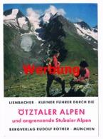 044 Werbekarte Bergverlag Rother Ötztaler Alpen Alpenverein - Pubblicitari