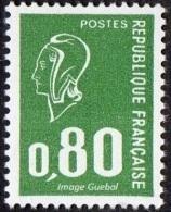 France N° 1891 B ** Marianne De Béquet - Le 0f80 Vert, Variété Sans Bande De Phosphore - Nuevos