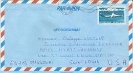 POSTE AERIENNE AEROGRAMME 108 AER NEUF 4,20 Fr ATR72 A  VOYAGE AUX ETATS UNIS - Entiers Postaux