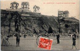 50 GRANVILLE - La Partie De Croquet Sur La Plage - Granville