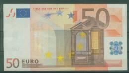 "SPAGNA SPAIN ""V"" BIGLIETTO DA  EURO € 50,00 DUISIMBERG SERIE. M009C3 CIRCOLATO - EURO"