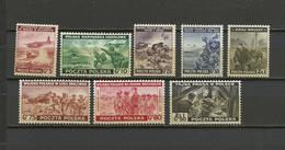 Pologne Exil à Londres  YT  9/16 **   Poland  Polen Polska Guerre 39/45 - 1939-44: World War Two
