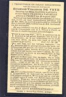 Eugenie-Virgenie De Vrye. Geb. Te Thielt 1821 En Overl. Te Ardoye 1922 (100 Jaar) - Devotieprenten