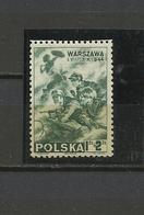 Pologne Exil à Londres  YT  21 **   Poland  Polen Polska Guerre 39/45 - 1939-44: World War Two