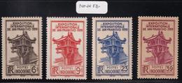 Indochina - 1939 - Sc 205-208 - MNH - #2 - Neufs