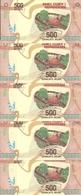 MADAGASCAR 500 ARIARY 2017 UNC P 99 ( 5 Billets ) - Madagascar