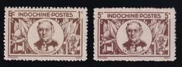 Indochina - 1943 - Sc 243 - 244 - MNH - Indochine (1889-1945)