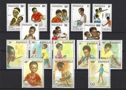 Rwanda: 1038/ 1045 + 1078/ 1085 ** - Ruanda