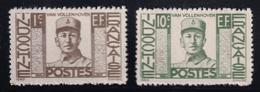 Indochina - 1944 - Sc 249 - 250 - MNH - Indochine (1889-1945)