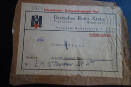 Devant De Lettre Pour 2 Eme Bureau SP.45 - Storia Postale