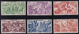 Indochina - 1946 - Sc C21 - C25 - MH - #2 - Neufs