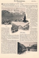 471 Heer Klausenstrasse Schweiz Altdorf Spriringen Artikel Mit 10 Bildern 1902 !! - Auto En Transport