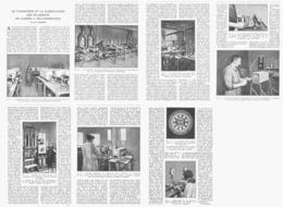 LE TUNGSTENE Et La FABRICATION Des FILAMENTS De LAMPES à INCANDESCANCE  1924 - Ciencia & Tecnología