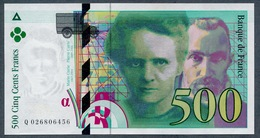 500 Francs Type Pierre & Marie Curie 1994  NEUF    Fay 76-01 - 500 F 1994-2000 ''Pierre En Marie Curie''