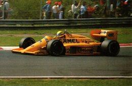 MOTOR RACING - AUTOMOBILISMO - FORMULA UNO - LOTUS - PILOTA AYRTON SENNA - N 3/253 - Grand Prix / F1