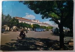 Avezzano (L'Aquila) - Piazzale Stazione - 1962 - Viaggiata - Pullman, Bus, Moto, Scooter - Italy