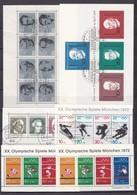 BRD - 1964/72 -  Block Sammlung - Gest./Postfrisch - 1. - BRD
