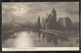 CPA ANGLETERRE - Stratford-on-Avon, The Memorial - Illustration - Stratford Upon Avon