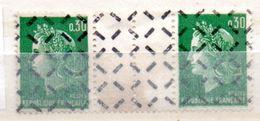 FRANCE N° 1611 30CVERT TYPE MARIANNE DE CHEFFER PARA OBLITERE - Curiosities: 1960-69 Mint/hinged